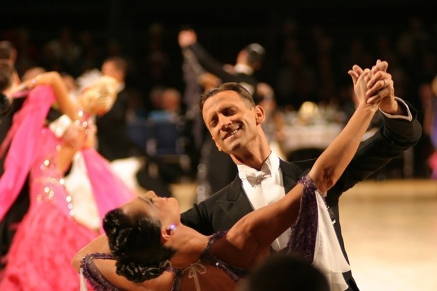 what is dancesport competitive ballroom dancing