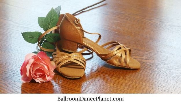 can ballroom dance shoes be worn outside